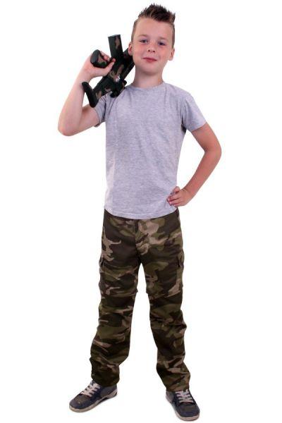Camouflage broek voor kinderen