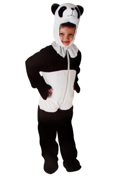 Panda kostuum pluche voor kinderen