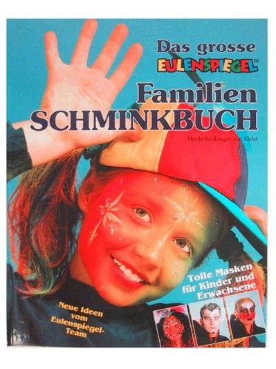 Face Paint Book Eulenspiegel in German