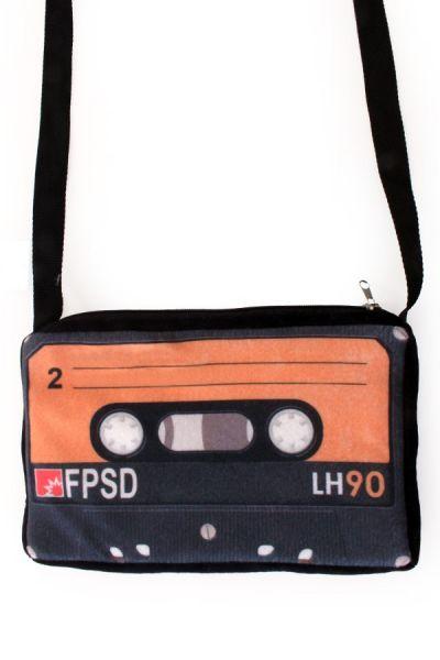 Handtas 80s cassettebandje
