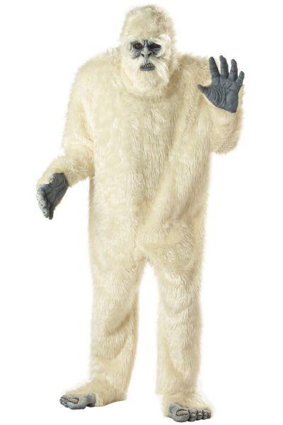 Grote Verschrikkelijke Sneeuwman ijsbeer kostuum