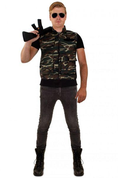 Stoer Camouflage vest mannen