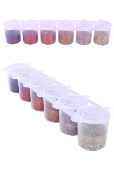 Steampunk color glitter set Ybody