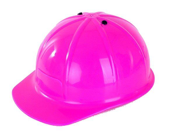 Bouwhelm werkhelm roze verstelbaar