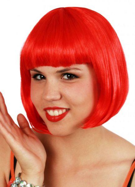 Bobline dames pruik rood sensation