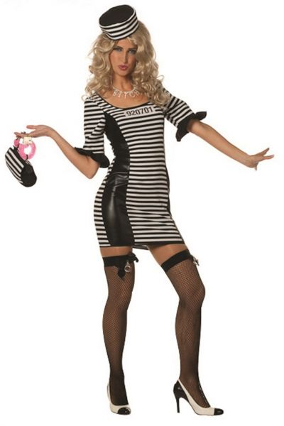 Facy Sexy Jailbabe dress convict
