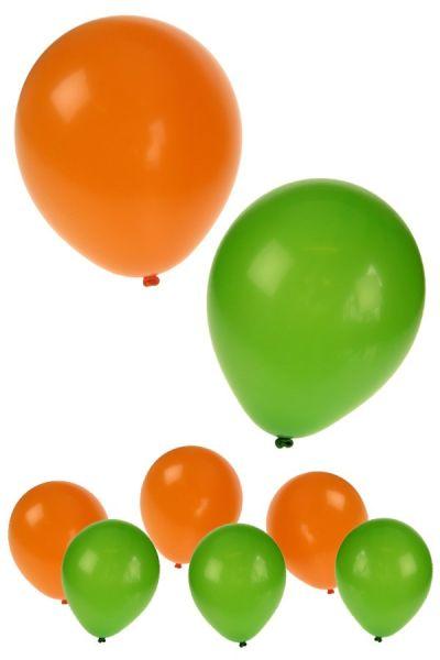 Kruikenstad Ballonnen helium oranje groen Tilburg