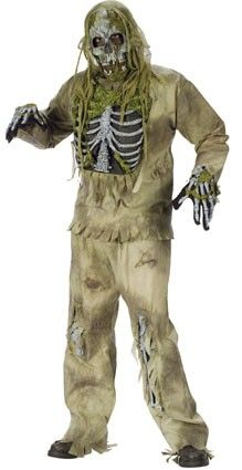 Halloween griezel zombie outfit