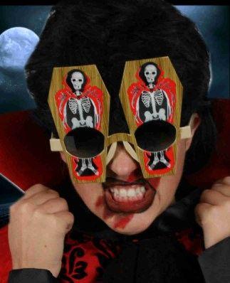Halloween vleermuis bril