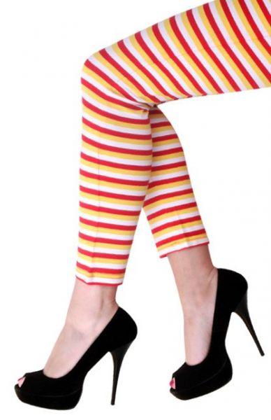 Legging Oeteldonk rood wit geel