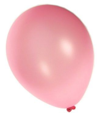 Kwaliteitsballon metallic fuchsia