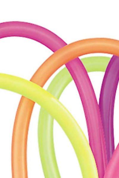 Luxe modelleerballon Neon qualatex 260Q