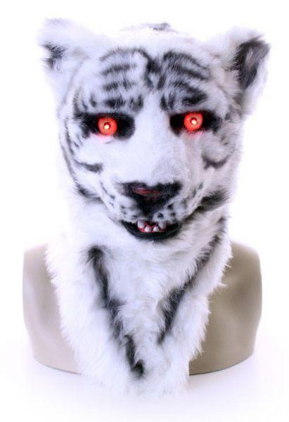 Volledig masker witte tijger