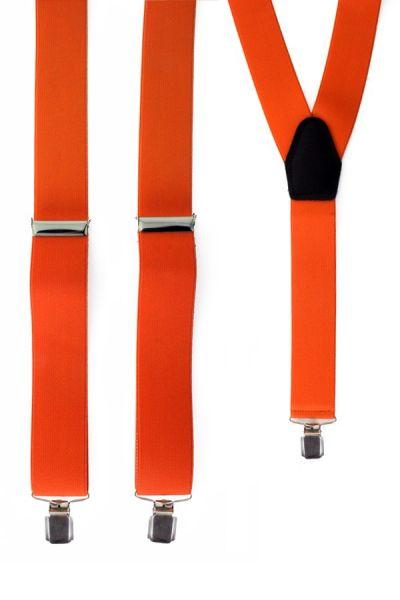 Bretels kleur oranje