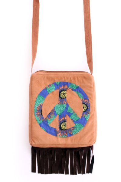 Schoudertas Hippie Peace