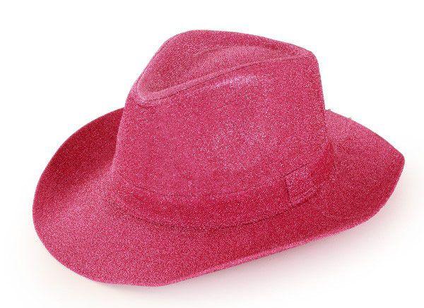 Cowboyhoed glitter pink