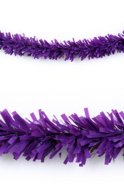 Plastic slinger paars 10 meter brandveilig