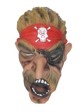 Masker Piraat met grote snor