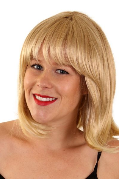 Dames pruik Elin Blond