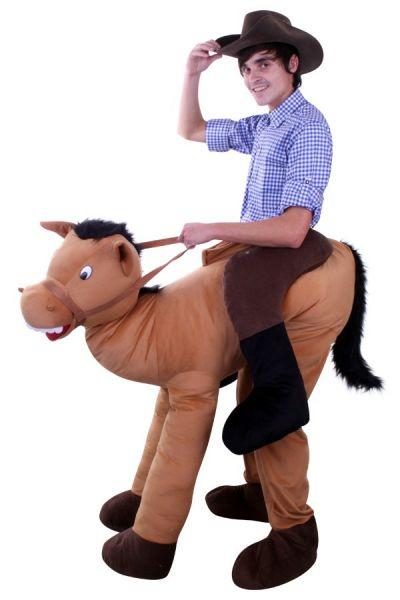 Rijdend op paard dierenkostuum