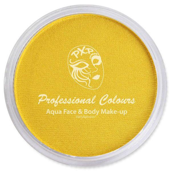 PartyXplosion schmink Pearl geel