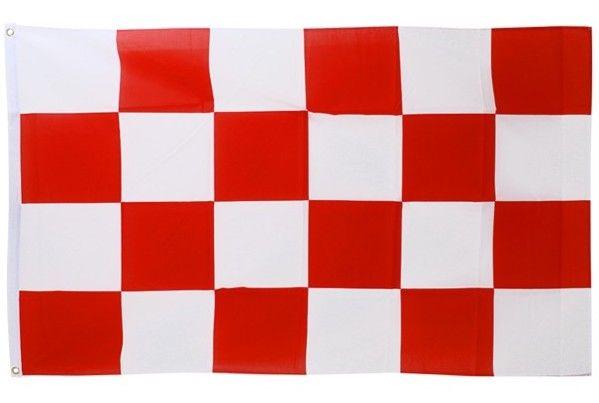 Vlag rood - wit geblokt Brabant