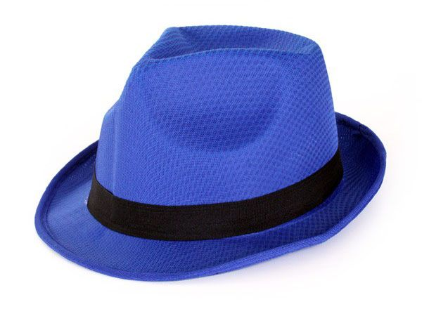 Maffia deukhoedje blauw