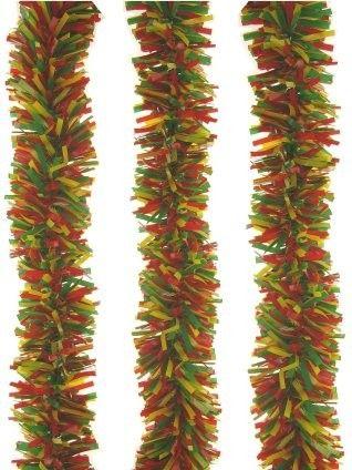 Plastic slinger rood geel groen 10 meter brandveilig