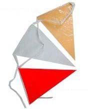 Vlaggenlijn Oeteldonk rood wit geel