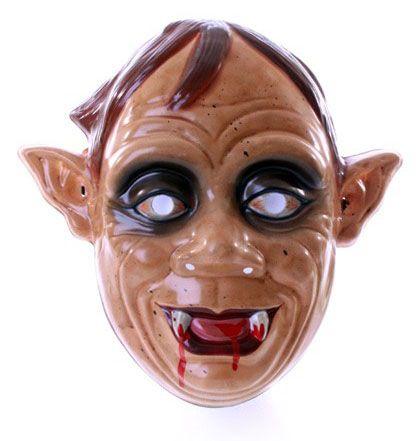 Zombie masker met spitse oren