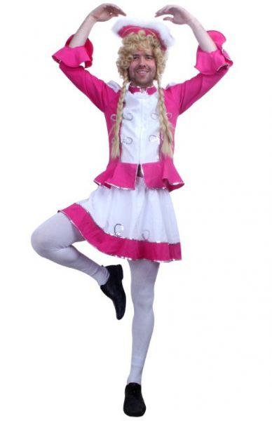 Vrijgezellenfeest outfit kleding Dansmarieke pink voor heren