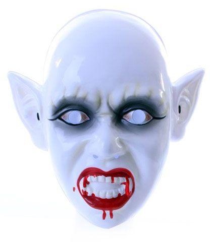 Zombie masker met bloederige mond