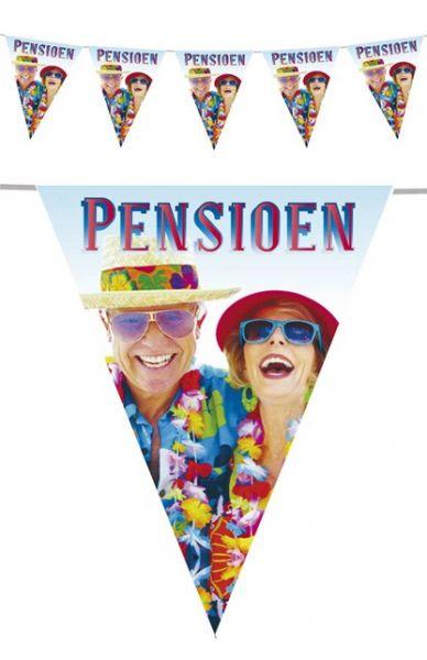 Vlaggenlijn 30m pensioen