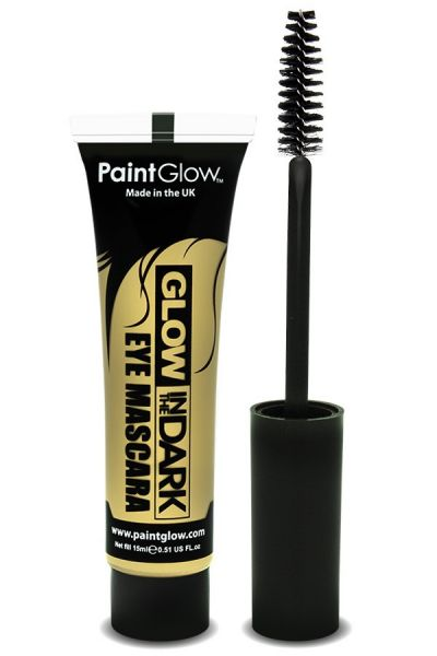 PaintGlow in the dark mascara UV neon invisible