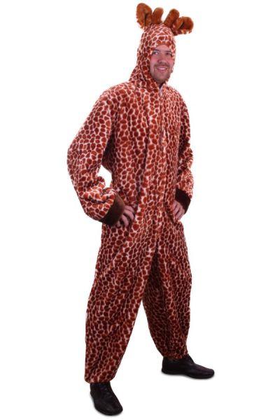 Dierenpak Giraffe pluche met capuchon