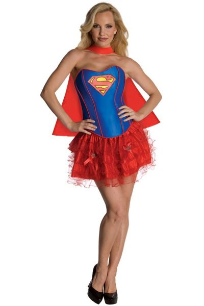 Superman dame Corset kleedje