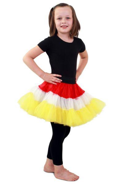 Petticoat Oeteldonk 3-laags meisje