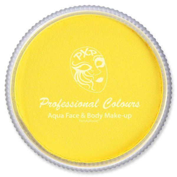 PXP schmink FSWS-201F Fel geel PartyXplosion