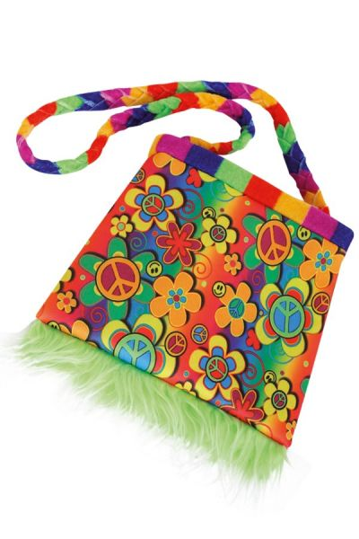 Kleurrijk Hippie bloementasje