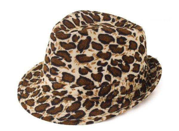 Gangster pimp panter print hoed