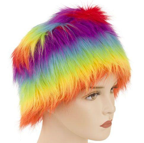 Bontmuts regenboogkleuren