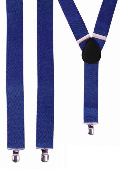 Bretels kleur blauw