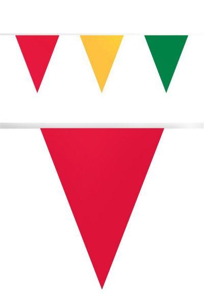 Vlaggenlijn carnaval brandveilig papier