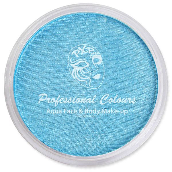PartyXplosion Aqua schmink Pearl Hemelsblauw