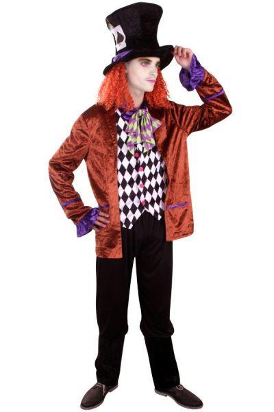 Crazy hat maker kostuum
