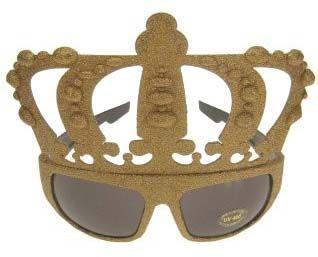 Goudkroon glitterbril