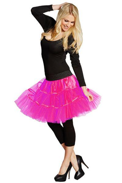 Rock & Roll Petticoat neon pink