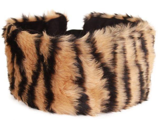 Hoofd haarband tijger
