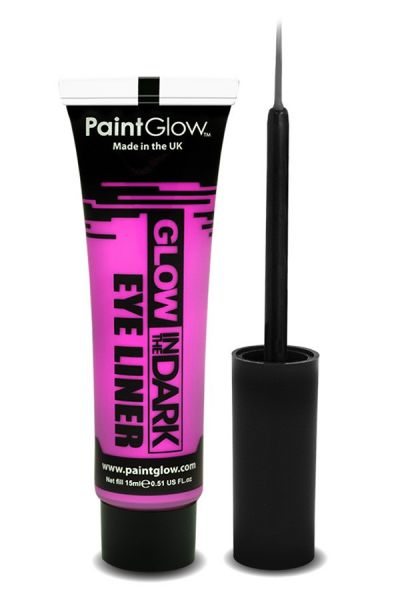 PaintGlow in the dark eyeliner UV neon pink