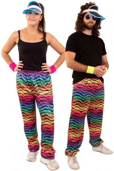 Hippie Trainingsbroek neon tijger print